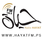 Hayat FM 100.8 100.8 FM Palestine, West Bank