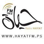 Hayat FM 100.8 FM Palestine, West Bank