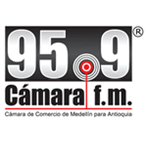 Cámara FM 95.9 FM Colombia, Medellin