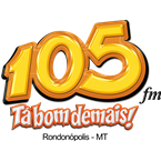 Rádio 105 FM 105.7 FM Brazil, Rondonópolis