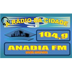 Rádio Anadia FM 104.9 FM Brazil, Arapiraca