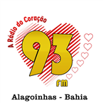 Rádio 93 FM 92.9 FM Brazil, Alagoinhas