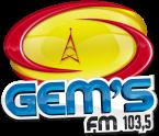 Radio Gem's FM  103.5 FM Brazil, Reriutaba