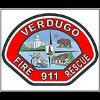 Verdugo Fire Communication Red 1 - 5 USA
