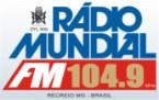 Rádio Mundial Recreio 104.9 FM Brazil, Muriaé