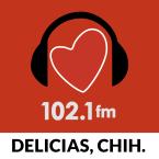 Romántica Delicias 102.1 FM Mexico, Ciudad Delicias