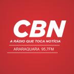 Rádio CBN (Araraquara) 95.7 FM Brazil, Araraquara