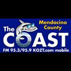 The COAST 95.9 FM United States of America, Mendocino