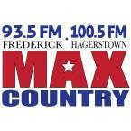 MAX Country 93.5 FM USA, Frederick