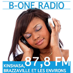 B-ONE RADIO 87.8 FM DR Congo, Kinshasa-Brazzaville