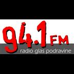 Radio Glas Podravine 94.1 FM Croatia, Koprivnica-Križevci