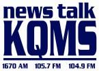 Newstalk 1057 KQMS 103.9 FM United States of America, Redding
