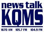 Newstalk 1057 KQMS 103.9 FM USA, Redding