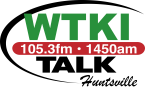 WTKI 92.9 FM USA, Huntsville