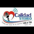 CALIDAD STEREO 100.6 FM - BERBEO BOYACA 100.6 FM Colombia, Tunja