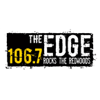 106.7 The Edge 106.7 FM United States of America, McKinleyville