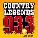 Country Legends 93.3 1300 AM USA, Knoxville