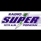 Radio SUPER Popayán 1070 AM Colombia, Popayán