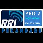 RRI Pro 2 Pekanbaru 88.4 FM Indonesia, Pekanbaru