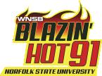 Blazin' Hot 91 91.1 FM USA, Norfolk