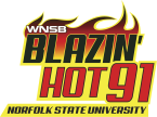 Blazin' Hot 91 91.1 FM United States of America, Norfolk
