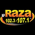 La Raza 102.3/107.1 FM 100.1 FM USA, Talking Rock