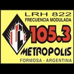 Radio Metrópolis 105.3 FM Argentina, Formosa