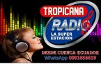 Radio Tropicana 1390 AM Ecuador, Cuenca