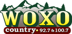 WOXO Country 92.7 & 100.7 92.7 FM USA, Norway