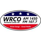 WRCO 1450 AM USA, Richland Center