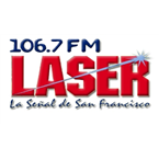 Laser 106.7 FM 106.7 FM Dominican Republic, San Francisco de Macorís