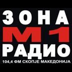ZONA M1 RADIO 104.4 FM Macedonia, Skopje