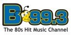 B993 The 80's Hit Music Channel 99.3 FM United States of America, Potsdam