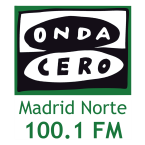 Onda Cero Madrid Norte 100.1 FM Spain, Madrid