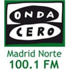 Onda Cero Madrid Norte 100.1 FM Spain, Madrid
