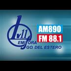 Radio LV11 890 AM Argentina, Santiago del Estero