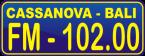 Cassanova FM Bali 102 FM Indonesia, Denpasar