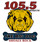 The Big Dog 105.5 FM United States of America, Muscle Shoals