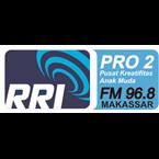 RRI P2 Makassar 96.8 FM Indonesia, Makassar