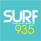 SURF 93.5 93.5 FM Thailand, Rayong