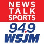 News/Talk/Sports 94.9 WSJM 94.9 FM USA, South Bend