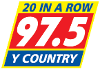 97.5 Y-Country 97.5 FM USA, South Bend