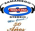 SAMANIEGO ESTÉREO 104.1 FM Colombia