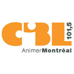 CIBL 101,5 Montréal 101.5 FM Canada, Montreal