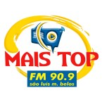 Rádio Mais Top FM 90.9 FM Brazil, São Luís de Montes Belos