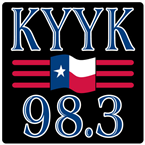 KYYK 98.3 FM United States of America, Tyler