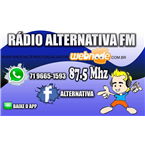 Rádio Alternativa FM 87.5 FM Brazil, Salvador