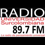 Radio Universidad Surcolombiana 89.7 FM Colombia, Neiva