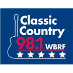 WBRF-FM 98.1 FM USA, Greensboro