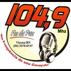 Rádio FM da Paz 104.9 FM Brazil, Viçosa